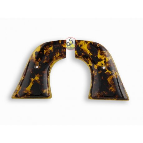 Revolver Ruger Griffe - handgefertigt aus Nachahmung Schildkröte & Amber Farbe